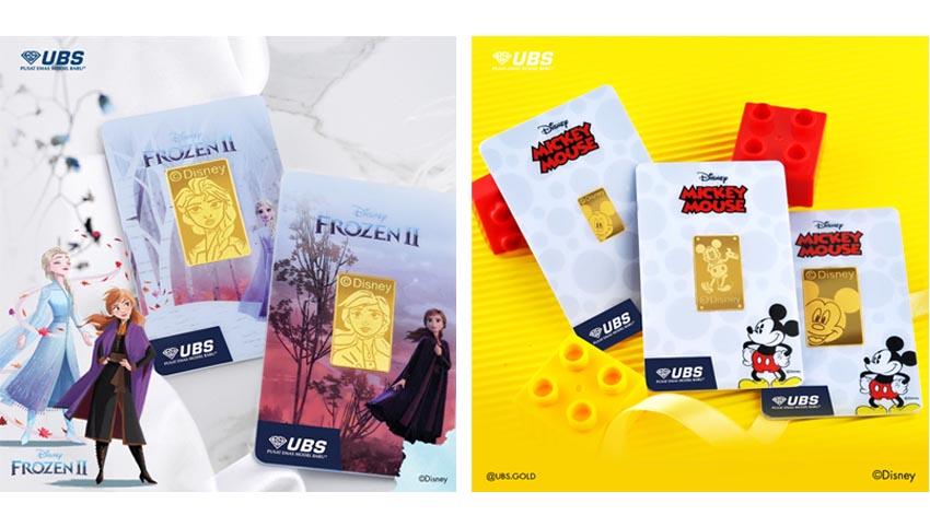 UBS Gold Hadirkan Logam Mulia dengan Karakter Disney Berteknologi Augmented Reality