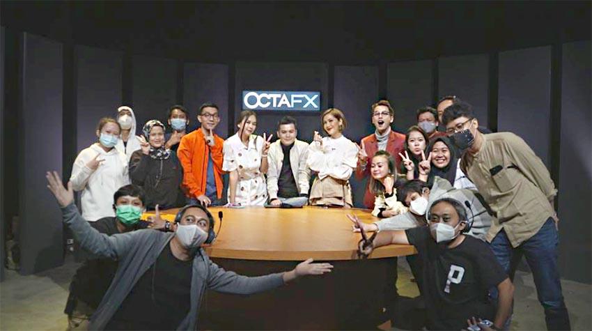 OctaFX Edukasi Para Selebritas Cara Melakukan Trading Forex