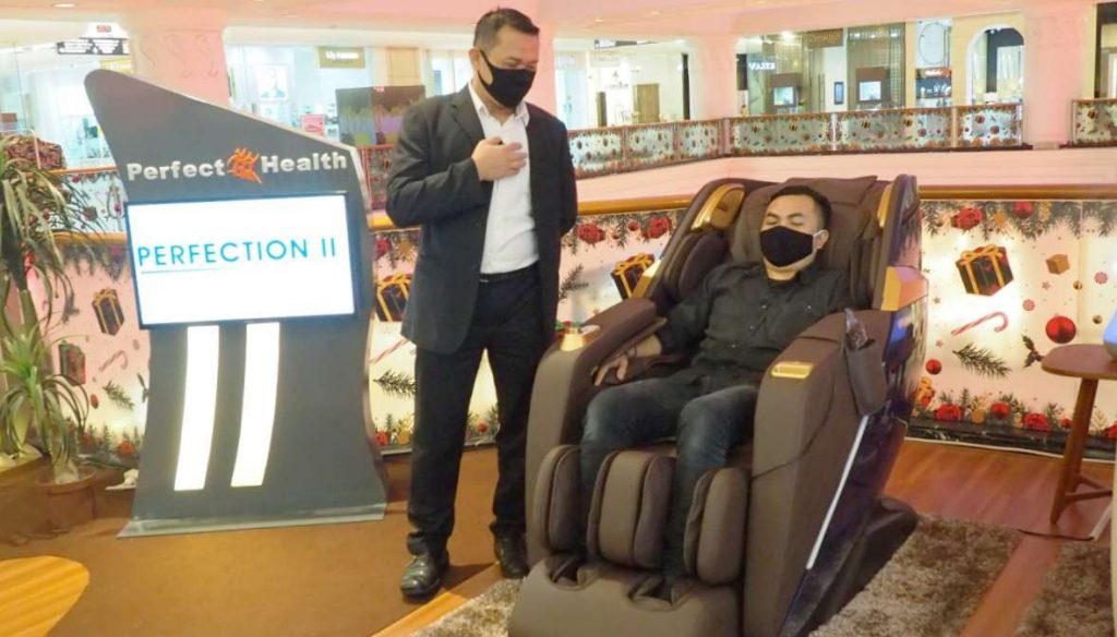 Perfect Health Indonesia Hadirkan Massage Chair Perfection II