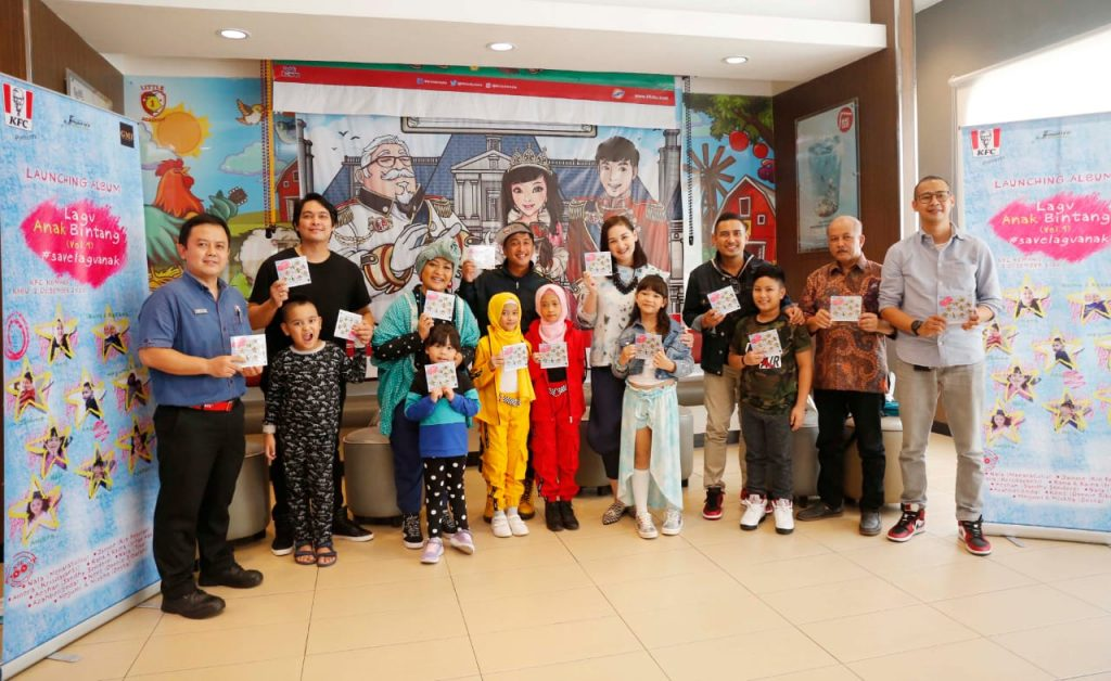 GMI Records dan KFC Indonesia Rilis Album Lagu Anak Bintang Vol. 1