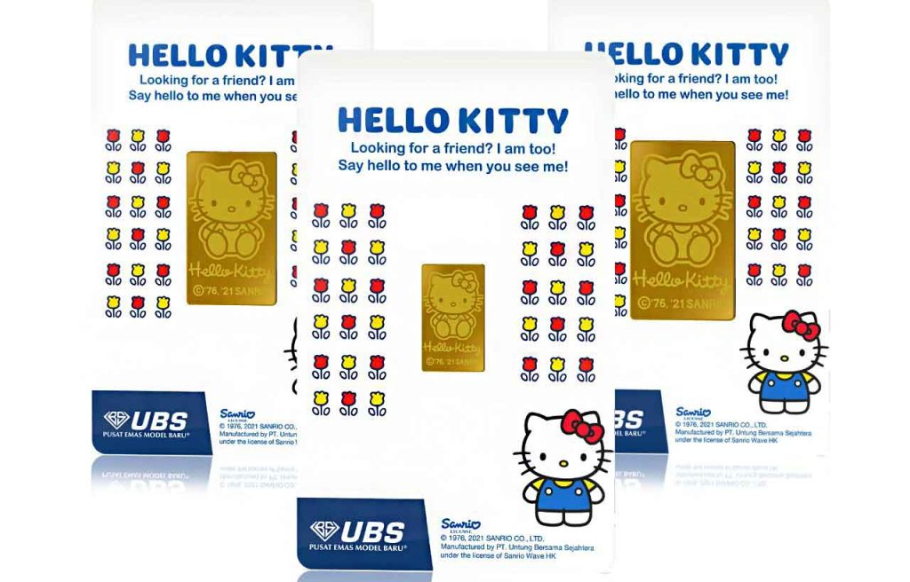 UBS Gold Hadirkan Logam Mulia Hello Kitty