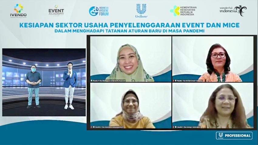 IVENDO dan Unilever Indonesia Gelar Pelatihan CHSE