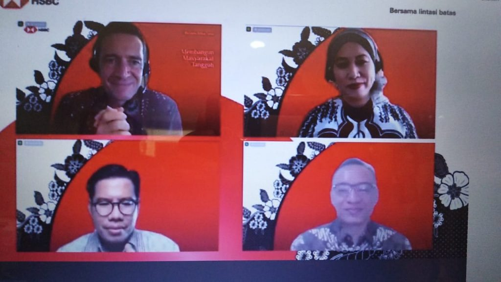 HSBC Sustainability Dukung Pemulihan Ekonomi Indonesia