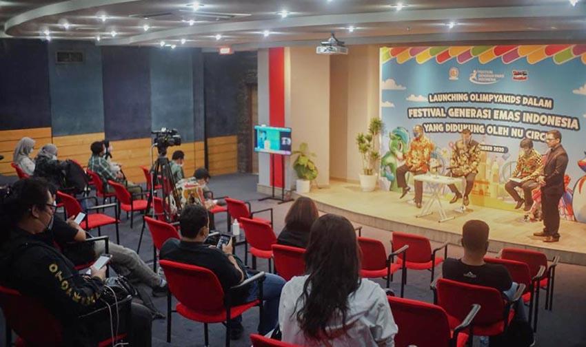 Olimpyakids Dirilis dalam Festival Generasi Emas Indonesia