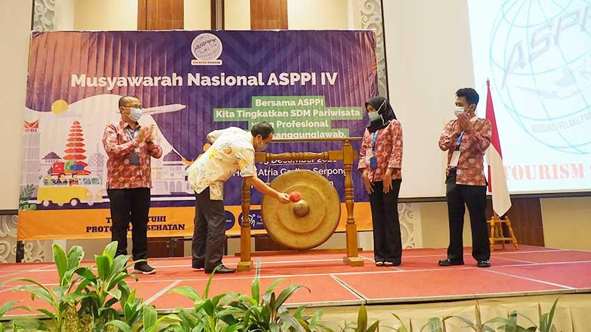 Gelar Munas IV, ASPPI Fokus Tingkatkan SDM Pariwisata