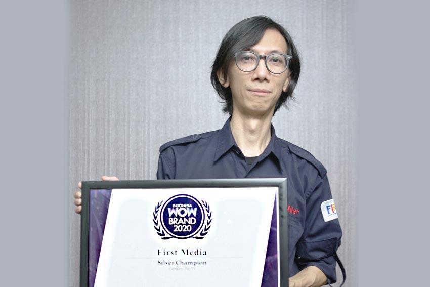 First Media Kembali Raih Penghargaan Indonesia WOW Brand