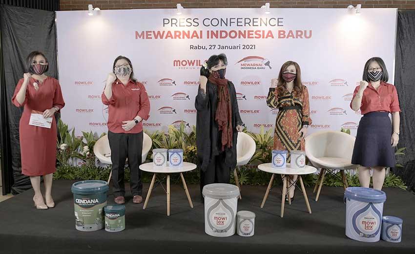 Mowilex bersama Anne Avantie Lakukan Aksi Sosial