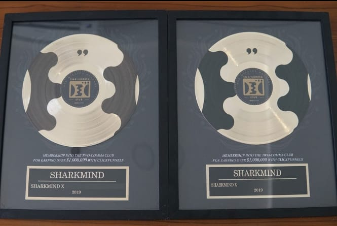 Sharkmind Raih Award International 2 Comma Club Kedua Kali