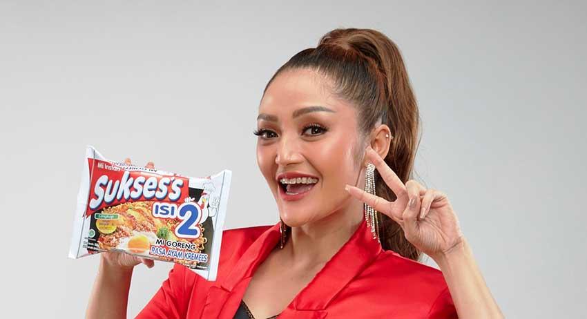 Siti Badriah Resmi Menjadi Brand Ambassador Mie Sukses's Isi 2