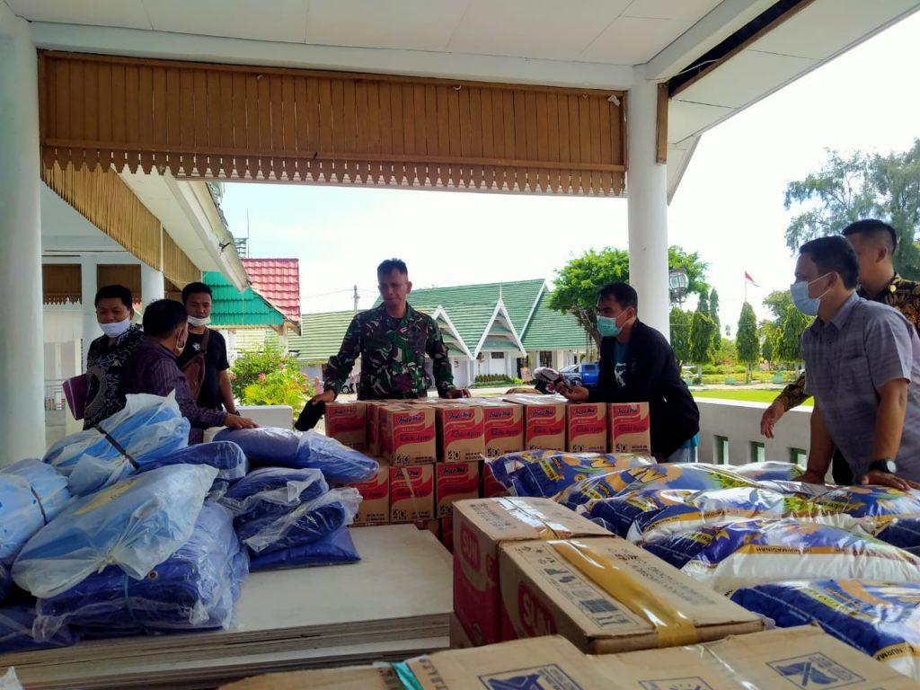 LPS Serahkan Bantuan Pemulihan Korban Gempa Majene