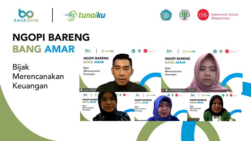 Amar Bank Dukung Literasi Keuangan Bersama Komunitas
