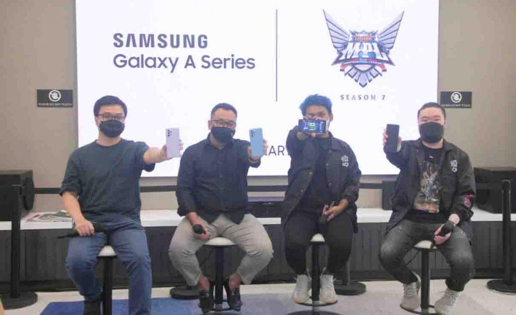 Samsung Galaxy A Series Jadi Official Smartphone di MPL Indonesia