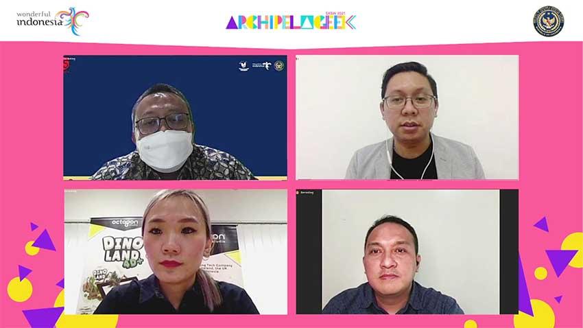 """Hadirkan Archipelageek, Kemenparekraf Dukung Start-up di Ajang """"SXSW Online 2021"""""""