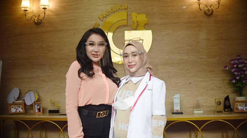 Lucinta Luna Jadi Brand Ambassador Glafidsya Medika