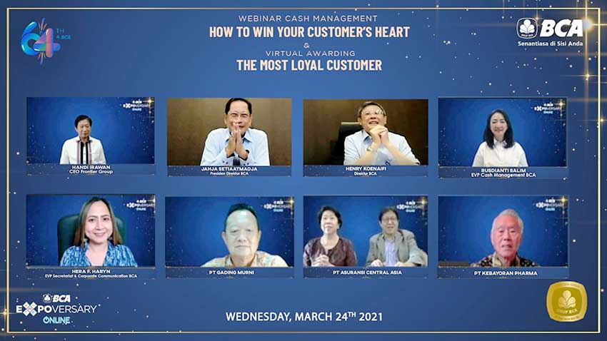 "BCA Gelar Virtual Award ""The Most Loyal Customer BCA"""