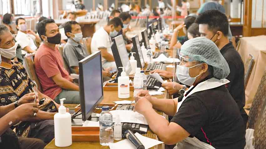 ITDC Vaksinasi 8.000 Pekerja Pariwisata Kawasan The Nusa Dua