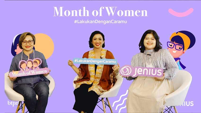 Luncurkan Program Month of Women, Jenius Dukung Pengembangan Diri Perempuan