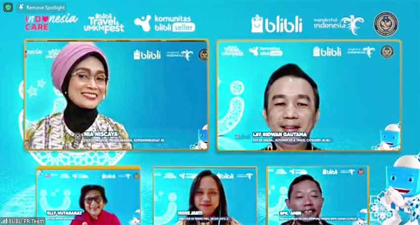 Gelar Festival Travel & UMKM, Blibli Akselerasi Transformasi Digital di Industri Parekraf