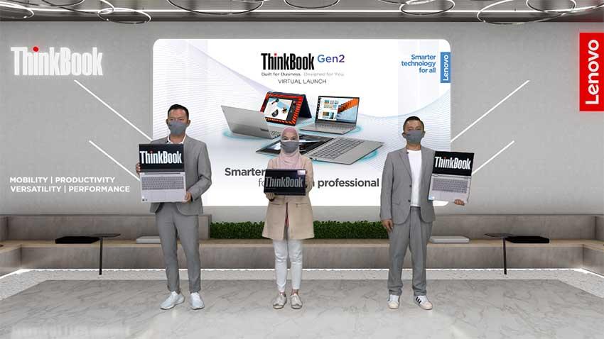 Lenovo Luncurkan Rangkaian ThinkBook Gen 2