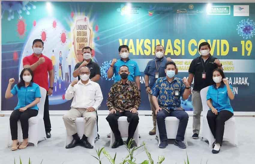 Suni Garden Lake Hotel & Resorts Gelar Vaksinasi Covid-19 Pertama di Jayapura
