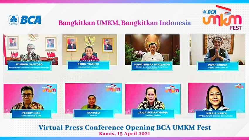 "BCA Luncurkan Festival Virtual ""BCA UMKM Fest"""