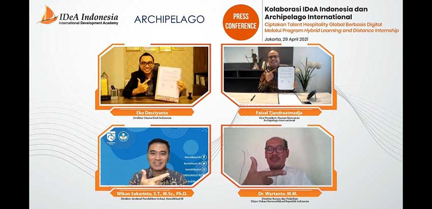 IDeA Indonesia Gandeng Archipelago International Lahirkan Talent Hospitality Global Berbasis Digital