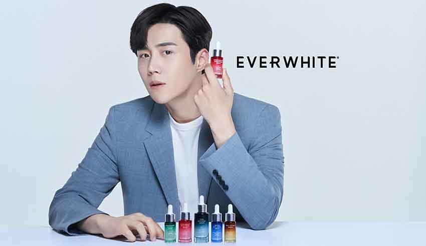 Everwhite Gandeng Aktor Korea Kim Seon Ho Jadi Skincare Mentor