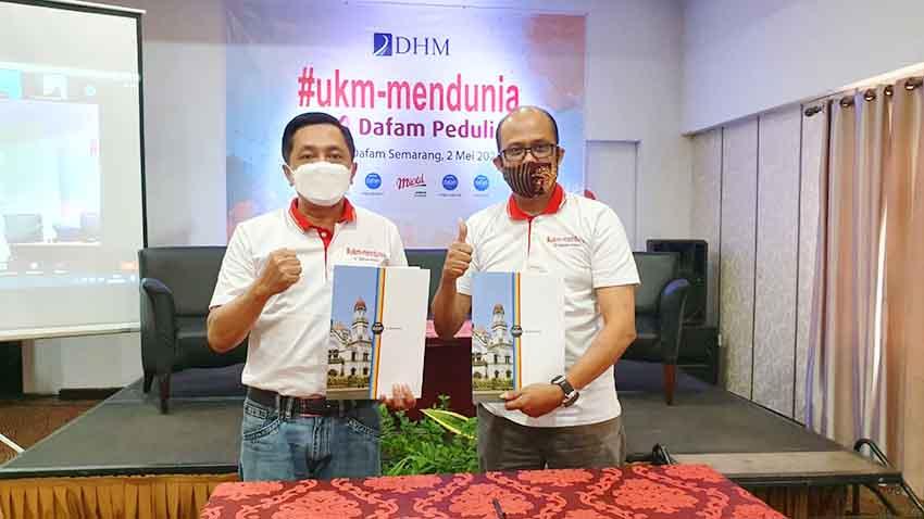 Dorong UKM ke Pasar Global, DHM Gelar Program DAFAM4UKM
