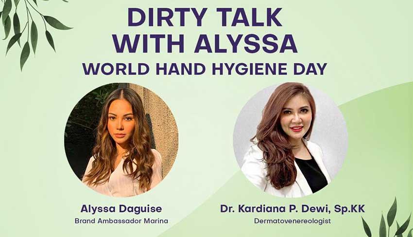 Peringati World Hand Hygiene Day, Marina Ajak Perempuan Indonesia Peduli Higienitas Diri