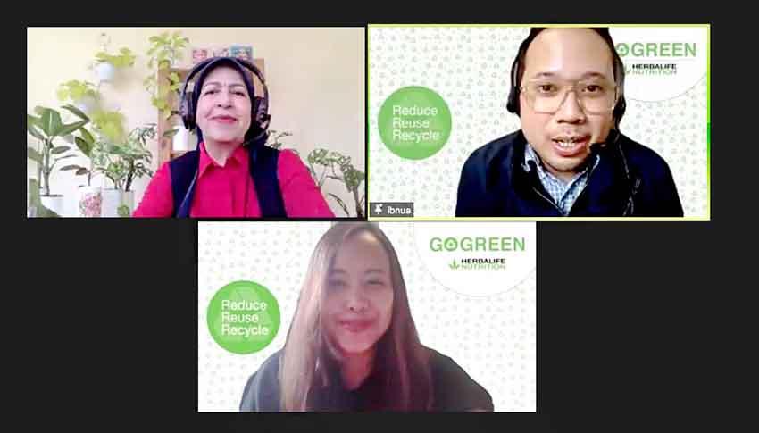 Gandeng Komunitas, Herbalife Nutrition Kampanyekan Go Green