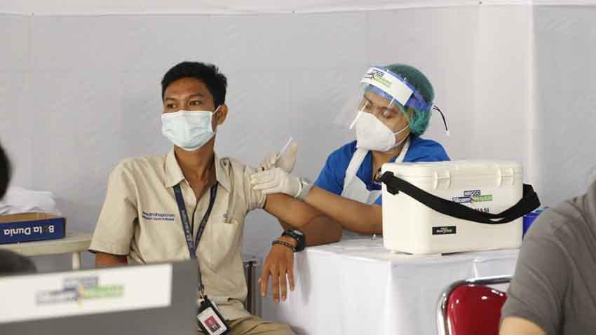 Dukung Program Pemerintah, OT Group Gelar Vaksinasi Gotong Royong di Sentra Vaksinasi KADIN