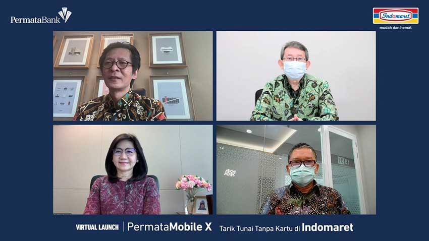 PermataBank Hadirkan Gratis Tarik Tunai Tanpa Kartu di Indomaret