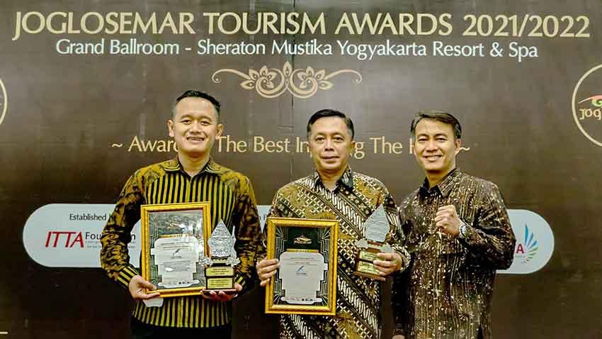DHM Unjuk Gigi di Joglosemar Tourism Awards 2021
