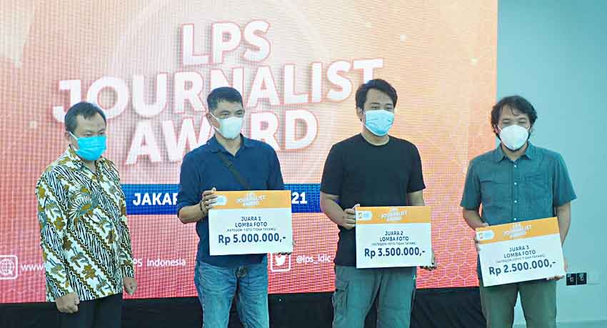 """LPS Apresiasi Awak Media Lewat """"LPS Jurnalis Award 2021"""""""