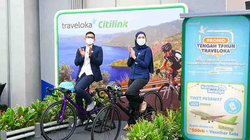 Traveloka dan Citilink Dorong Pemulihan Industri Pariwisata Domestik