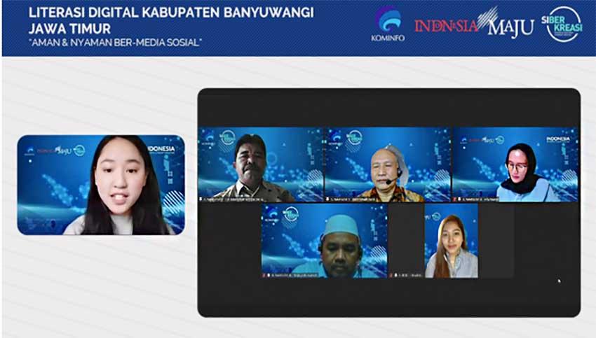 Kabupaten Banyuwangi Makin Cakap Digital