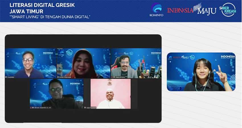 Kabupaten Gresik Kembali Ikuti Literasi Digital