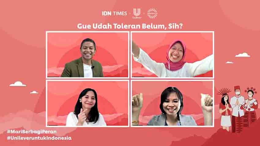 Unilever Indonesia Ajak Generasi Muda Wujudkan Toleransi
