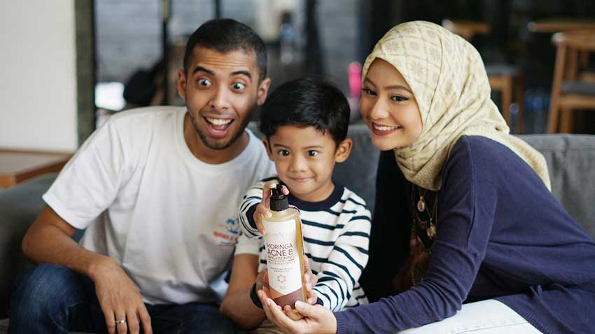 Rambah Bisnis Skincare, Sahil Mulachela HadirkanThe Camels Moringa Acne And Brightening