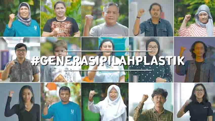 Dorong Restorasi Ekosistem, Unilever Indonesia Kampanyekan #GenerasiPilahPlastik