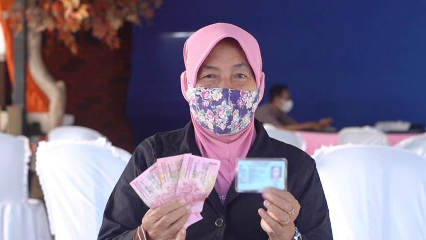 95% Bantuan Sosial Tunai di DKI Jakarta Telah Disalurkan Pos Indonesia