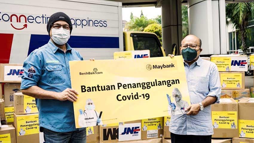 Dukung Penanggulangan Covid-19, Maybank Indonesia Salurkan Bantuan Alat Kesehatan