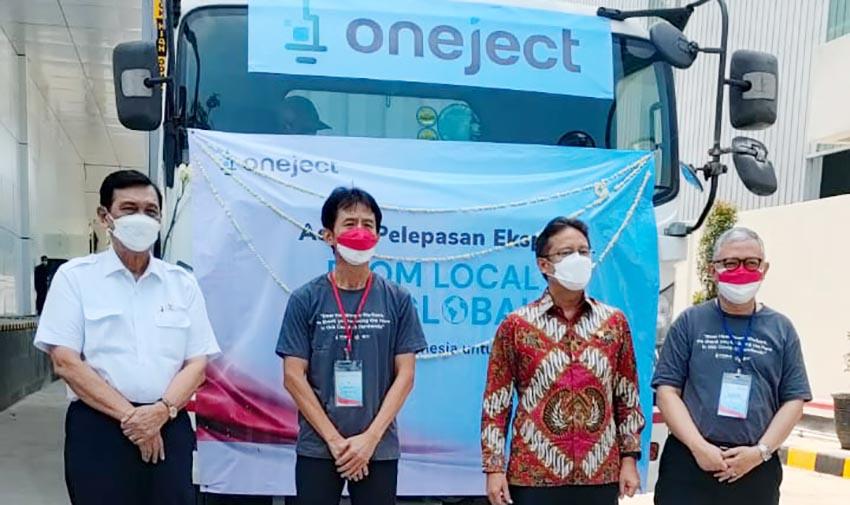Oneject Indonesia Ekspor Alat Suntik Kebutuhan UNICEF dan Ukraina
