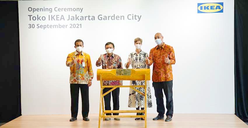 IKEA Resmi Buka Toko Keempatnya di Timur Jakarta