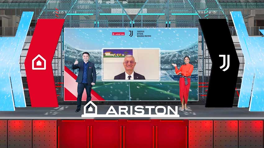Ariston Jadi Official Regional Partner Juventus