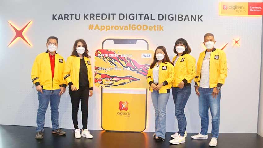 digibank by DBS Luncurkan Kartu Kredit Digital dengan Approval 60 Detik