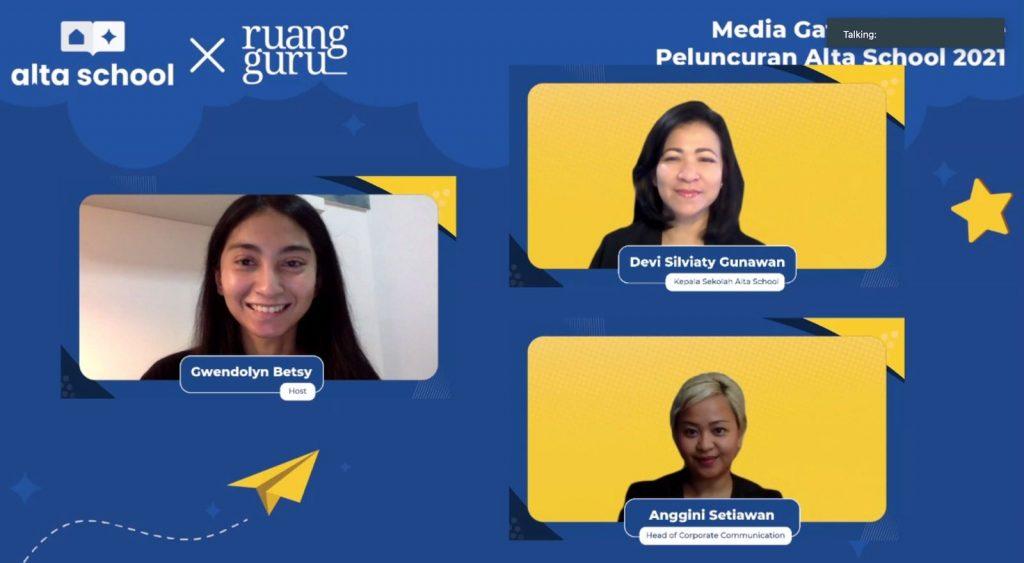 Usung Metode Blended Learning, Alta School Hadirkan Sekolah Online Setara Konvensional