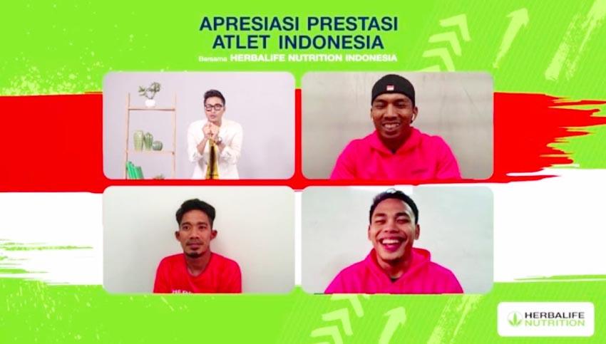 Herbalife Nutrition Apresiasi Prestasi Atlet Indonesia