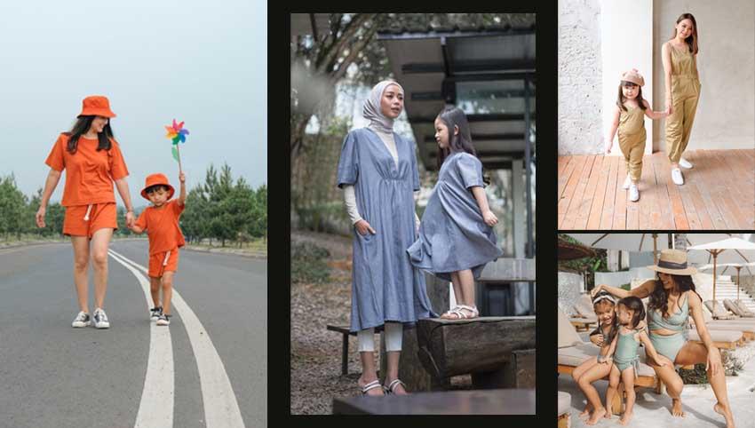 Ini 4 Inspirasi Tampilan Kembar Bareng Si Kecil di Berbagai Kegiatan