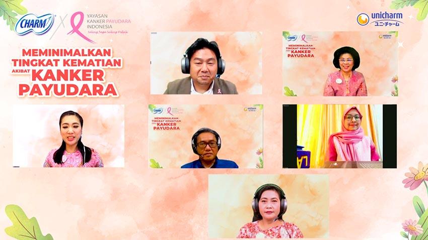 Gandeng YKPI, CHARM Dukung Aksi Pink Ribbon Minimalisir Angka Kematian Akibat Kanker Payudara